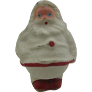Paper mache German Santa Candy container