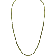 """14K Gold Byzantine 20"""" Necklace 14.3 Grams"""