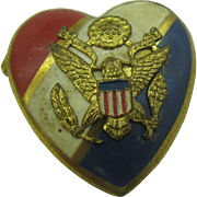 Army Sweetheart pin WW11/ Korean war era