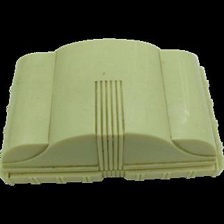 Deco celluloid watch or Bracelet box