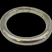Nice Vintage Sterling silver bangle