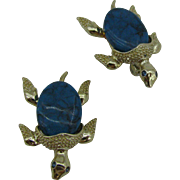 A pair of Turtle scatter pins Signed GERRY'S  $10 dollar LAST CHANCE