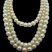 POP Bead three Strand Necklace