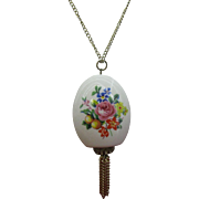 Scent bottle pendent necklace