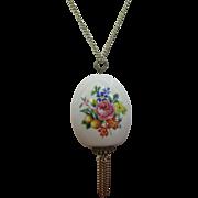 Scent bottle pendent necklace