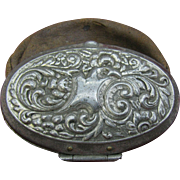 Art Nouveau Leather Coin purse ( 10 dollar special) - Red Tag Sale Item