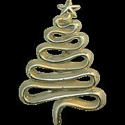 Danecraft Christmas tree pin