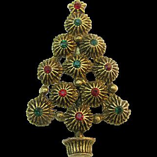 Hedy Christmas tree pin Book Piece