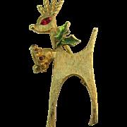 MYLU Christmas Reindeer pin
