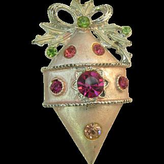 Christmas Ornament Pin