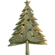 Christmas tree pin two part construction Lovely tree