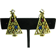 Pakula Christmas tree earrings (Last Chance)