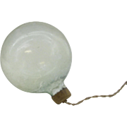 WW11 Clear Ornament with paper top