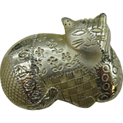 J.J Calico Kitty pin