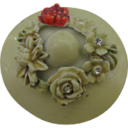 BSK My Fair Lady Hat in cream color