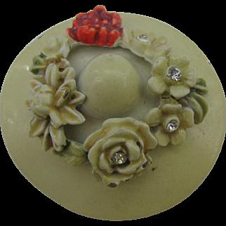 BSK My Fair Lady Hat in cream color