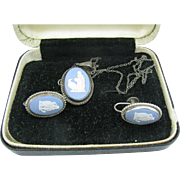 Wonderful Wedgwood Cameo set necklace and earrings