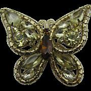 Juliana Jonquil Butterfly Brooch