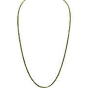 "14K Gold Byzantine 20"" Necklace 14.3 Grams"