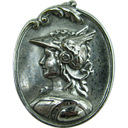 Lovely Mercury pin ( the god of financial gain)