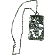 Napier Asian Man in Garden Necklace