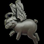 J.J When PIGS Fly brooch $10 dollar special