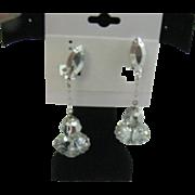 Lewis Segal 1960's space age earrings