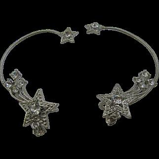 Vintage AVON around the ear earrings shooting stars