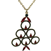 Large Christmas Tree necklace