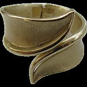 Crown Trifari Clamper Bracelet Modern design