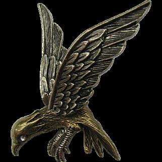 Wonderful 3D Signed ART Bird pin