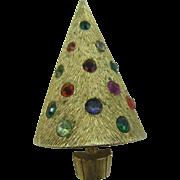 Book Piece Light up CoroCraft Christmas tree pin