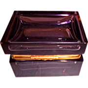 Murano Glass Amethyst Color Box