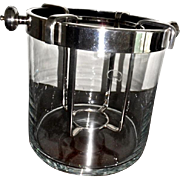 Vintage Christofle  Fleuron ice bucket ,wine cooler