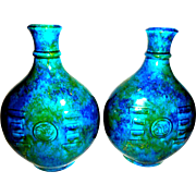 Pr. Sevres MP France vases, Designer Paul Milet c.1920-30