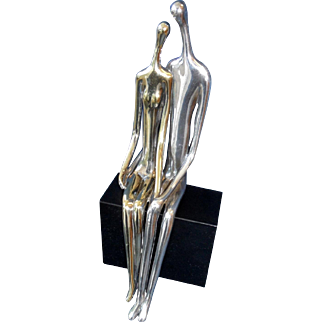 Sculpture by Ruth Bloch , Sterling silver