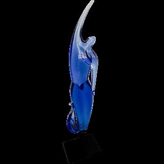 Vintage Murano glass sculpture by Raffaeli for Oggetti