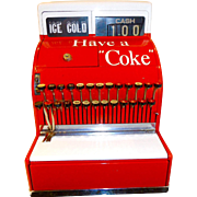 National Cash Register  Coca Cola collectable  C. 1940 #126(N)