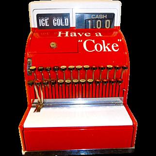 National Cash Register  Coca Cola collectable  C. 1940 #126(N)
