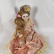Gorgeous Tiny French Bisque Antique Doll