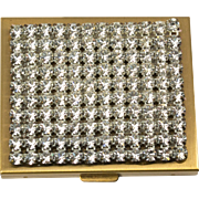 Mirrored Rhinestone Compact