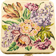 Micro Petit Point Vintage Compact