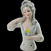 Beautiful German Half Doll