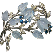 TRIFARI 'Alfred Philippe' Moonstone Colored Fruit Salad Brooch Pin