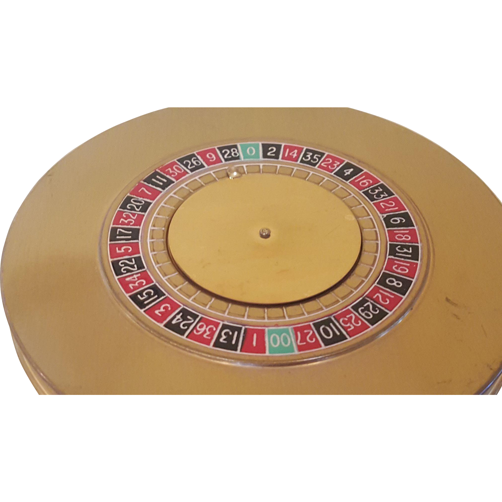 vintage majestic roulette wheel compact novelty book item. Black Bedroom Furniture Sets. Home Design Ideas