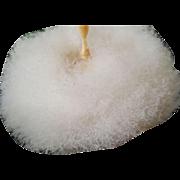 Antique Swansdown Powder Puff w/Celluloid Powder Jar