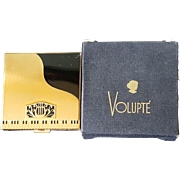 Vintage Volupte Novelty Piano Compact w/ Org. Box
