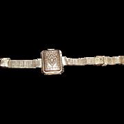 Ultra Rare French 1920's  Marques De Elorza Combo Bracelet Compact Art Deco Era