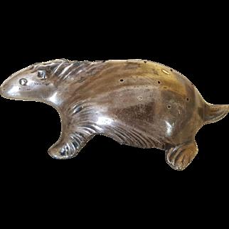 Rare Antique Weidlich Bros Silver Hatpin Holder