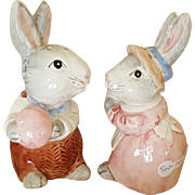Sweet Bunny Rabbit Salt and Pepper Shakers